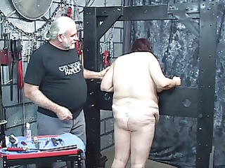 guy punishes perverted bbw in panties