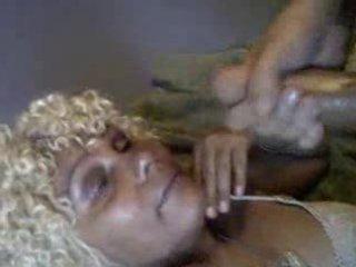 biggest facial on older ebony