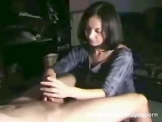 great tugjob from my wife