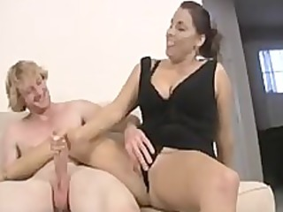 mommy and not her daughter share dick