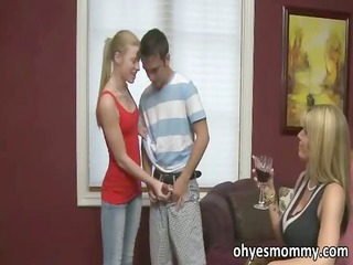 stepmom and stepdaughter compete for fellow
