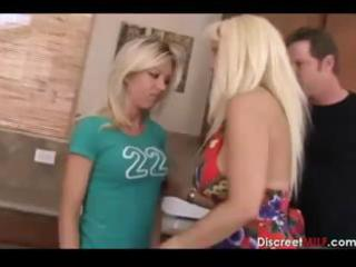 mom and daughter acquires drilled