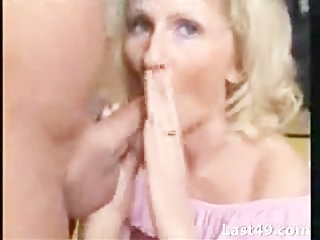 older blond sucking well