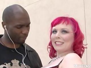 nasty milf receives her pierced vagina screwed