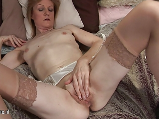 grandma jj receives wicked and naked on her own