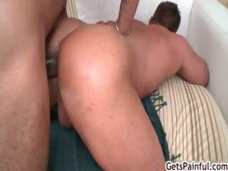 older muscle boy sucking dark cock