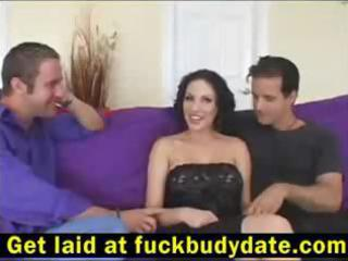 enchanting milf with a taut bod acquires double
