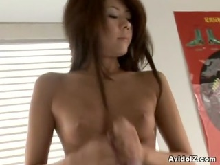 beautiful momose drilled with wild cumshot!