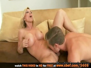 i drilled my friend&#834_s blond breasty mom