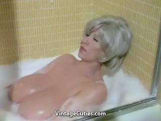chesty morgan washing her worlds biggest bust