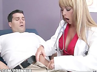 breasty big-tit doctor shayla laveaux helps her