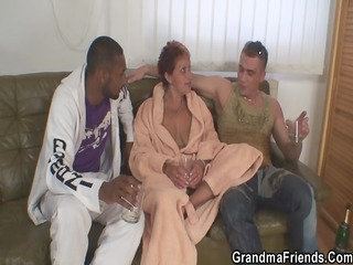 granny takes 7 big ramrods