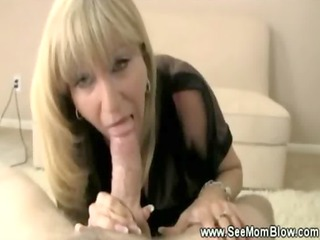 hungry large titted mother i engulfing cock for