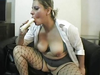 spruce and breasty uk milf shags with her legal
