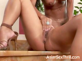 magnificent lesbo oriental pair