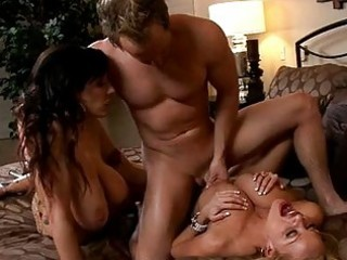 concupiscent tanned milfs with biggest puppies