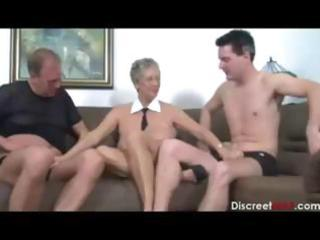 horny non-professional aged german doxy engulfing