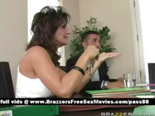 aged breasty brunette hair doxy at a collision