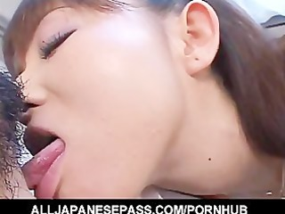 trimmed vagina is toyed until soaked and then