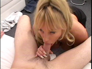 MILF...the mom we all want to fuck. She swallows