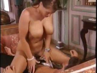 mature dark brown with large boobies gets a-hole
