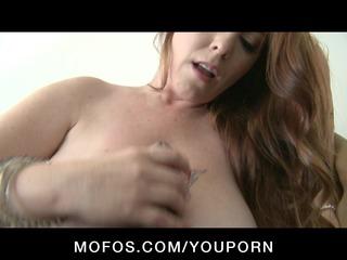 large tit & booty blond & brunette hair