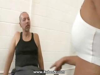 korean copulates gym trainer