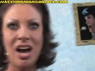 brunette hair mamma trades oral with dark