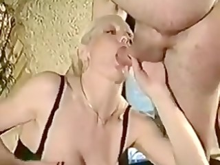 blond floozy blow job and anal