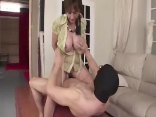 Nasty mature british slut is made to fuck