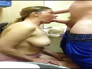 wife engulf schlong and deepthroat