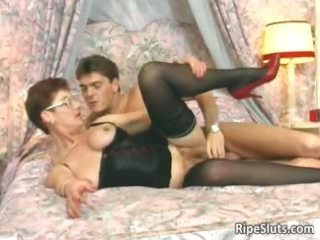 lustful aged redhead gets that is hairy part3