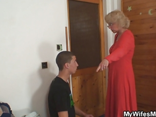 wife finds her guy fucking mother in law