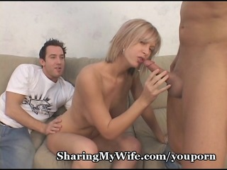 hubby lascivious to share wife and joins