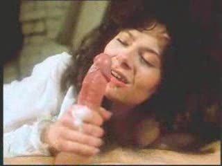 vintage retro mature woman oral with big jizz flow
