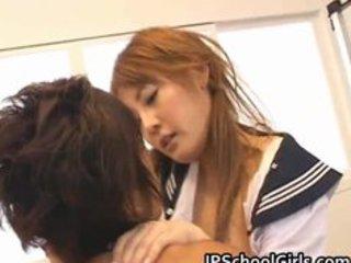 cute japanese school cutie momo receives part7
