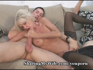 hot mature gives show 9 hubby