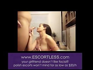 non-professional wife engulfing dick and getting
