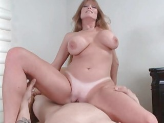 hawt and breasty milf hoe receives madly screwed