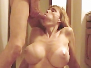 hawt blond large tit mother i gives fine