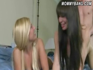 lucky bf fucks her girlfriend carmen and her