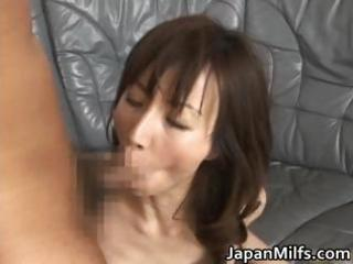 highly concupiscent japanese milfs engulfing part4